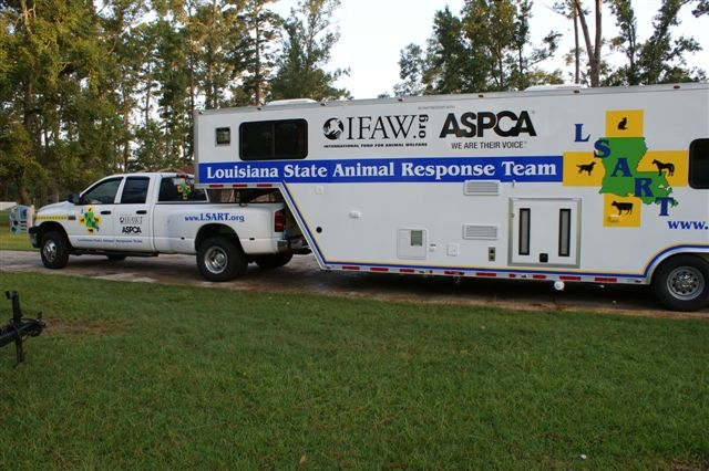 LSART Mobile Emergency Response Trailer, serving all Louisiana communities